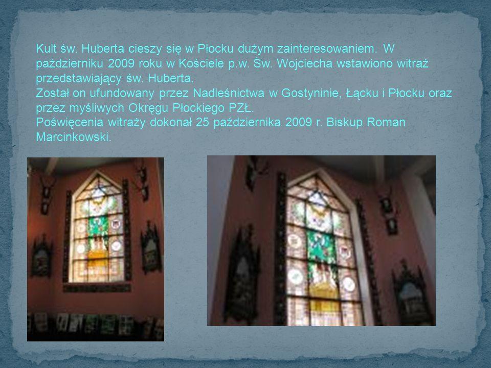 Kult św. Huberta cieszy się w Płocku dużym zainteresowaniem