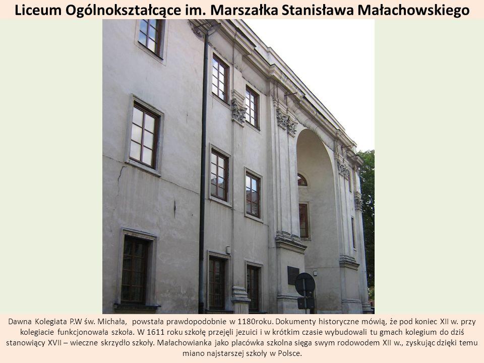Liceum Ogólnokształcące im. Marszałka Stanisława Małachowskiego