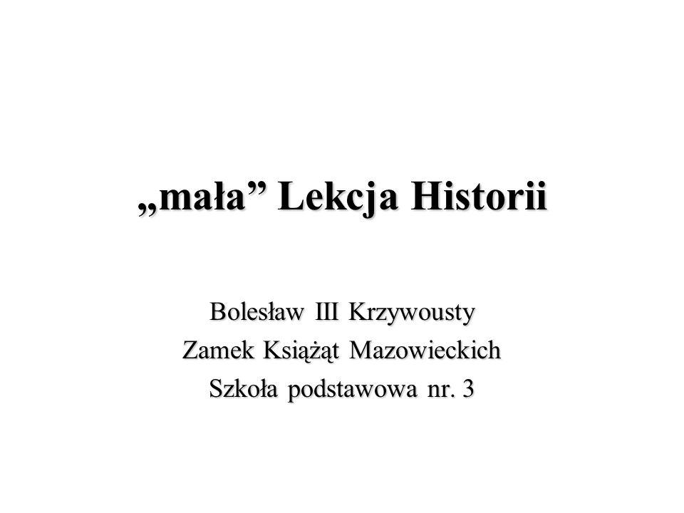 """""""mała Lekcja Historii"""