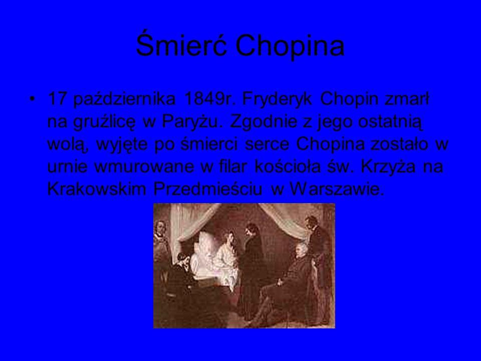 Śmierć Chopina