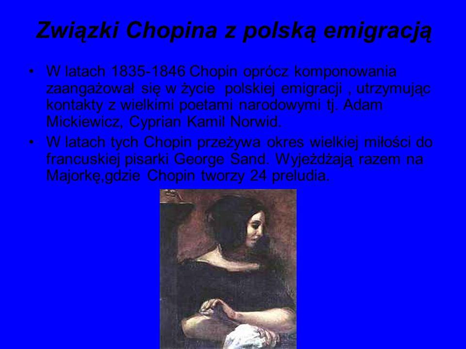 Związki Chopina z polską emigracją
