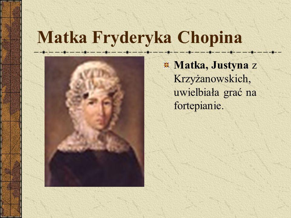 Matka Fryderyka Chopina