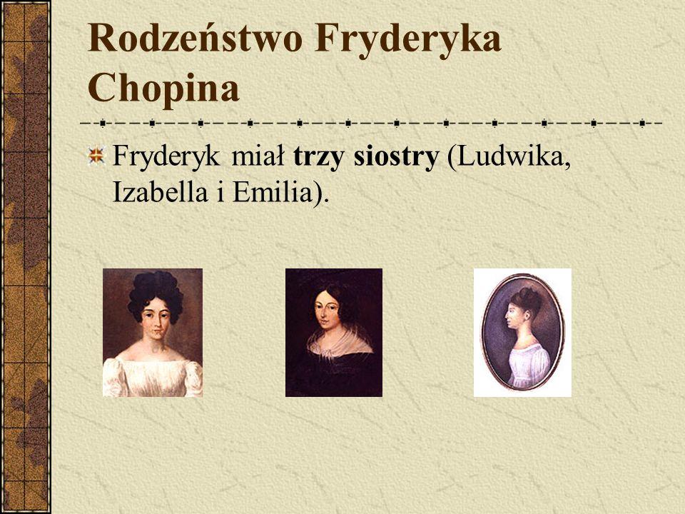 Rodzeństwo Fryderyka Chopina