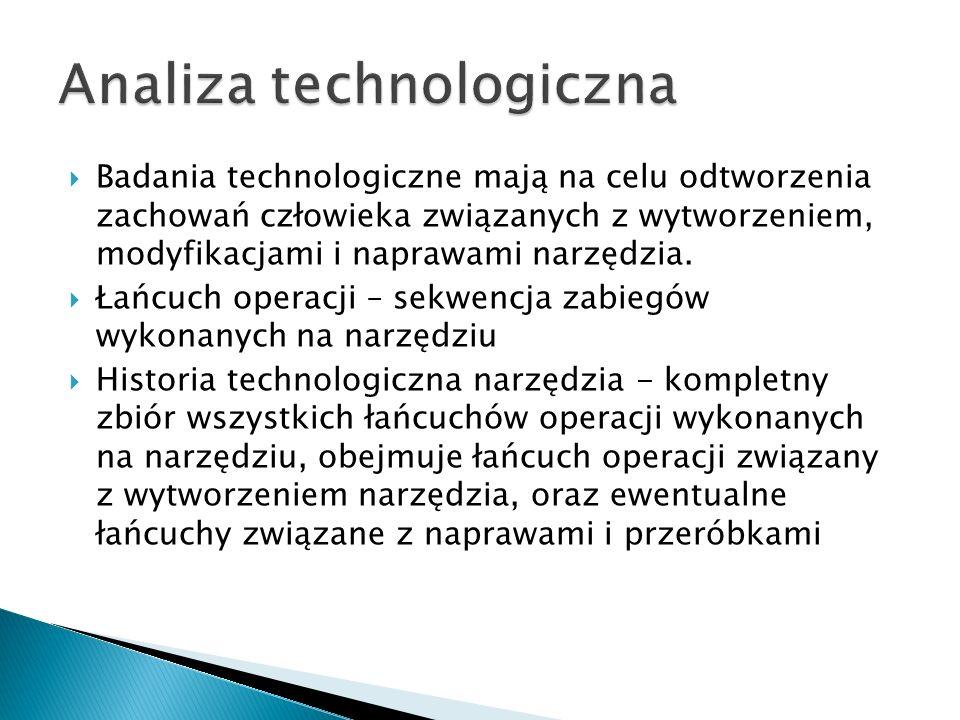 Analiza technologiczna