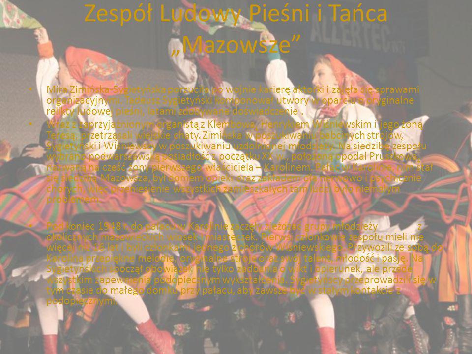 """Zespół Ludowy Pieśni i Tańca """"Mazowsze"""