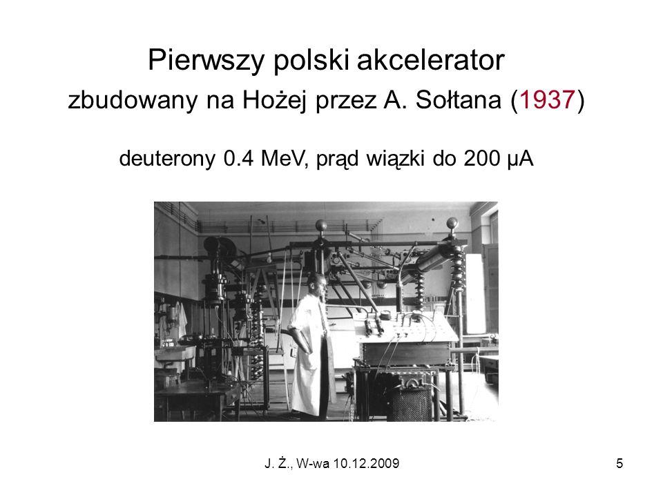 Pierwszy polski akcelerator