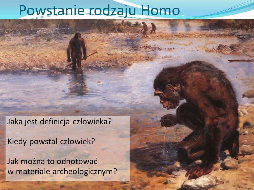 Powstanie rodzaju Homo