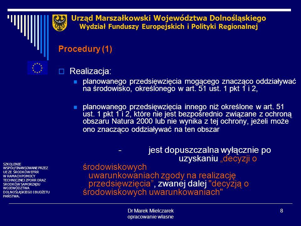 Dr Marek Mielczarek opracowanie własne