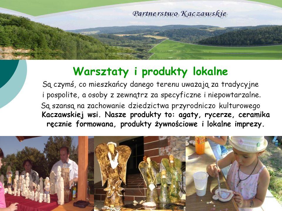 Warsztaty i produkty lokalne