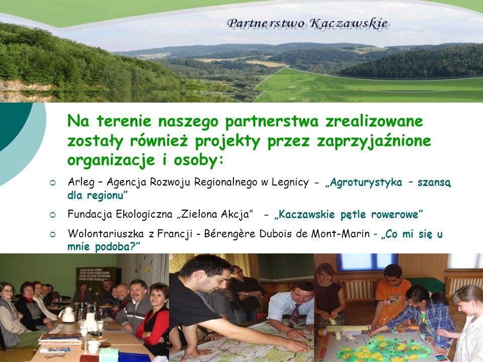 Na terenie naszego partnerstwa zrealizowane zostały również projekty przez zaprzyjaźnione organizacje i osoby: