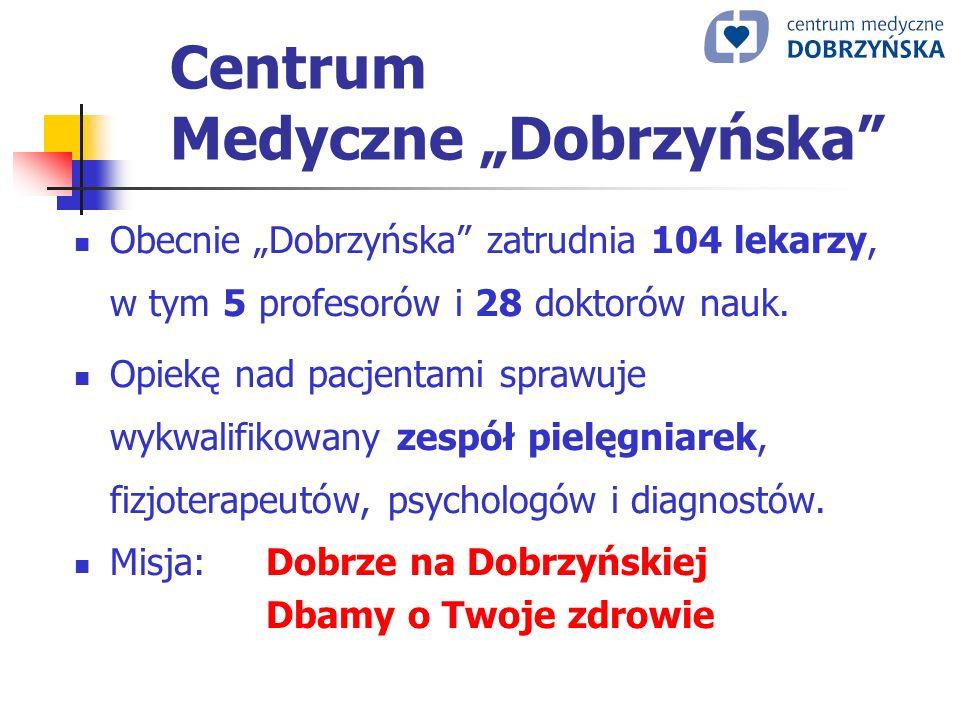 """Centrum Medyczne """"Dobrzyńska"""