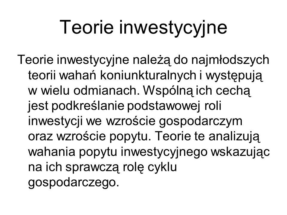 Teorie inwestycyjne