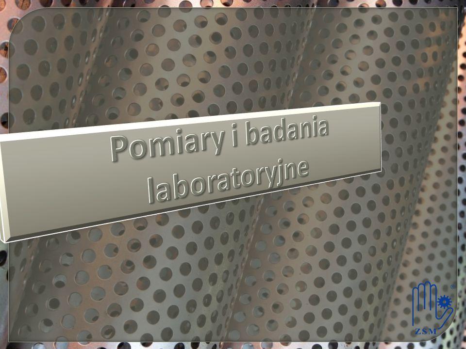 Pomiary i badania laboratoryjne