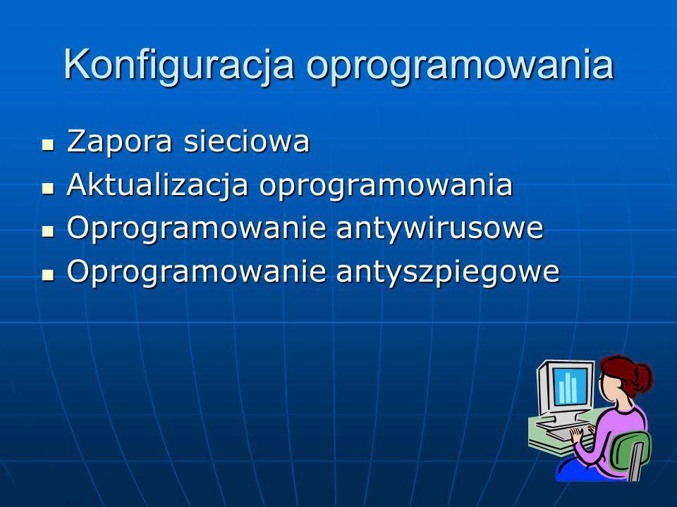 Konfiguracja oprogramowania