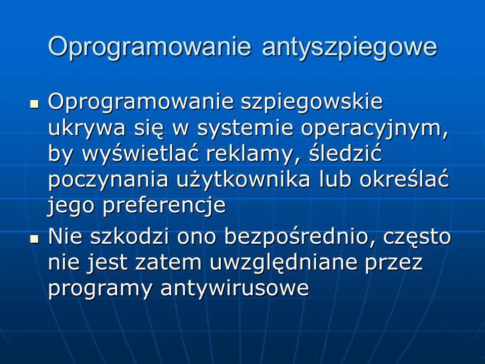 Oprogramowanie antyszpiegowe
