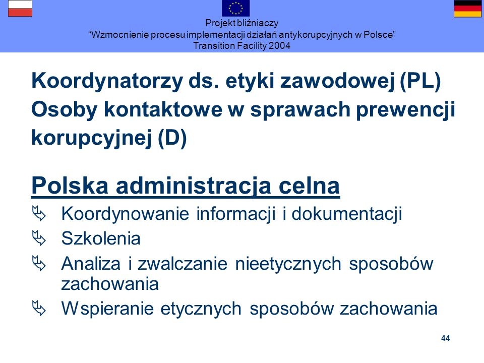 Polska administracja celna