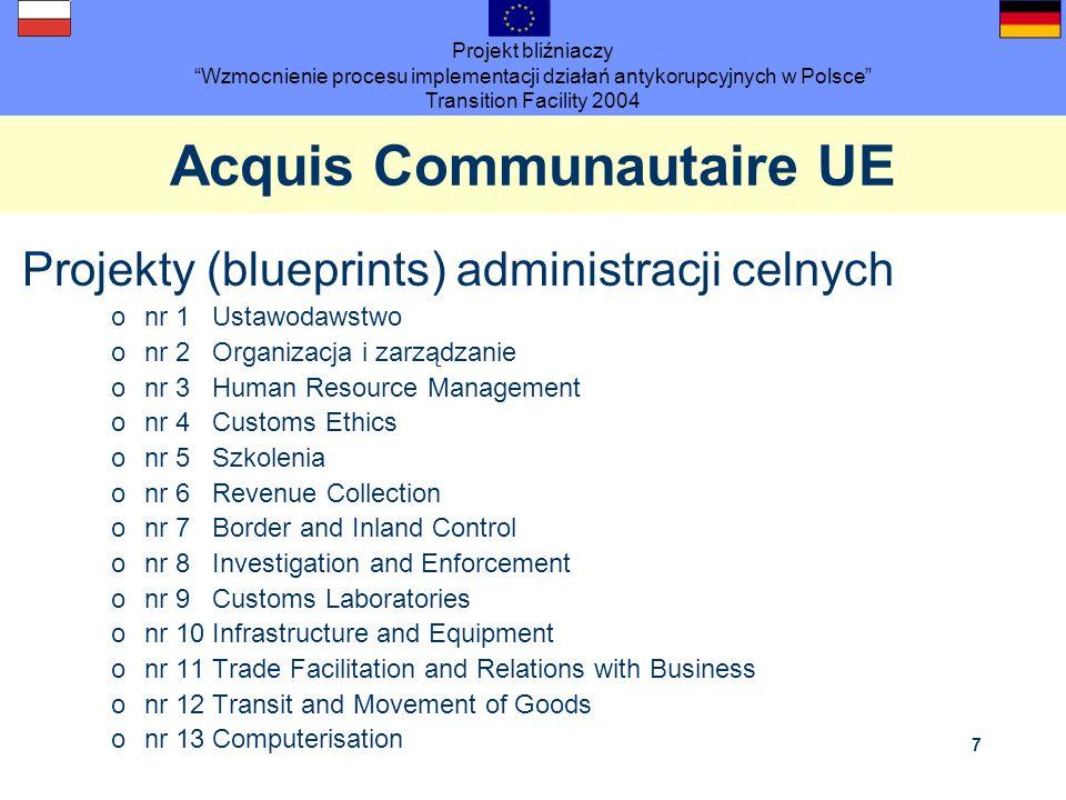Acquis Communautaire UE