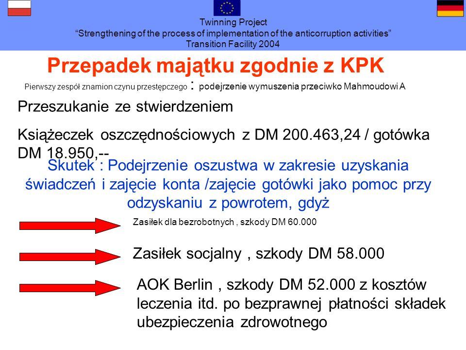 Przepadek majątku zgodnie z KPK