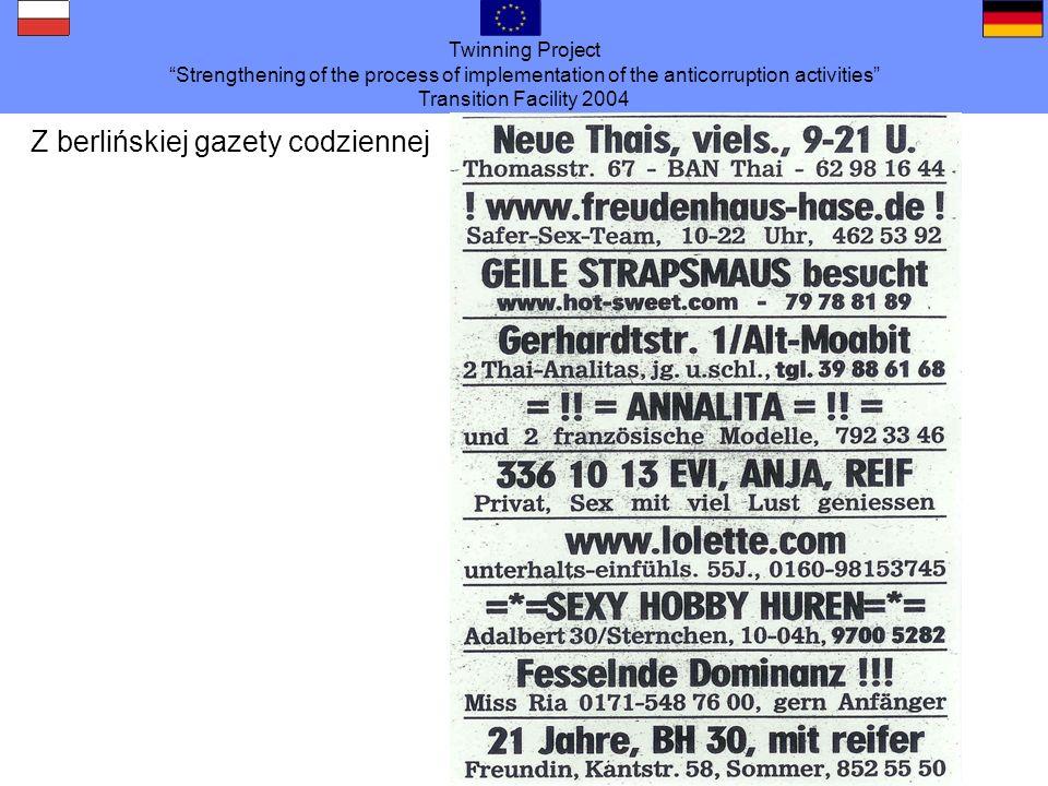 Z berlińskiej gazety codziennej
