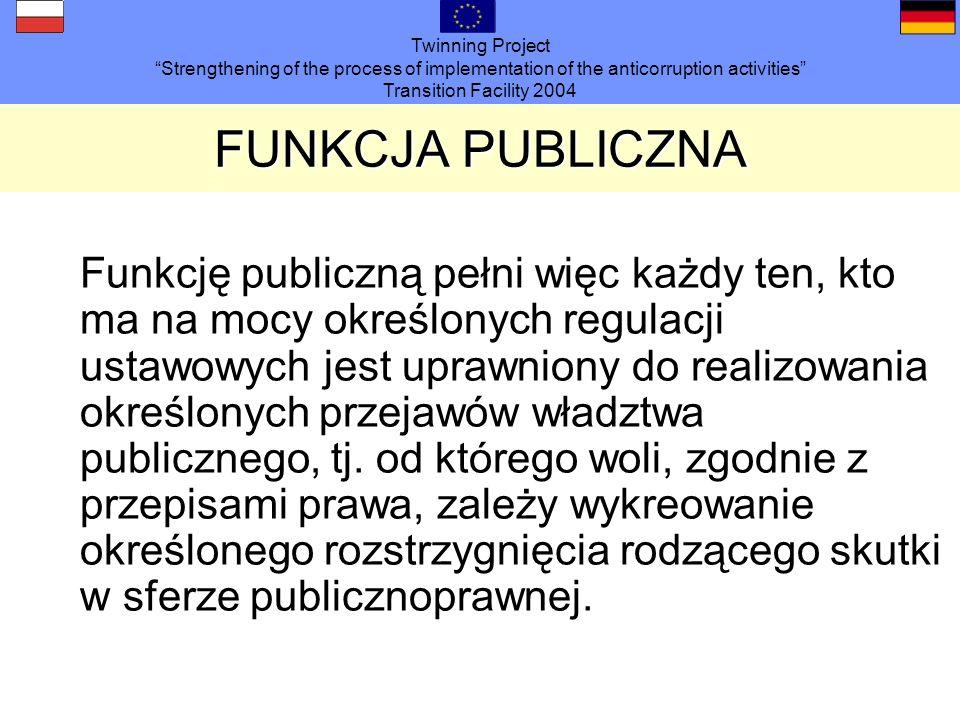 FUNKCJA PUBLICZNA