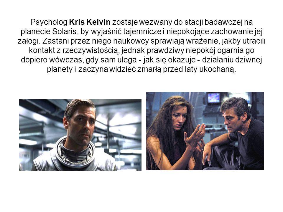 Psycholog Kris Kelvin zostaje wezwany do stacji badawczej na planecie Solaris, by wyjaśnić tajemnicze i niepokojące zachowanie jej załogi.