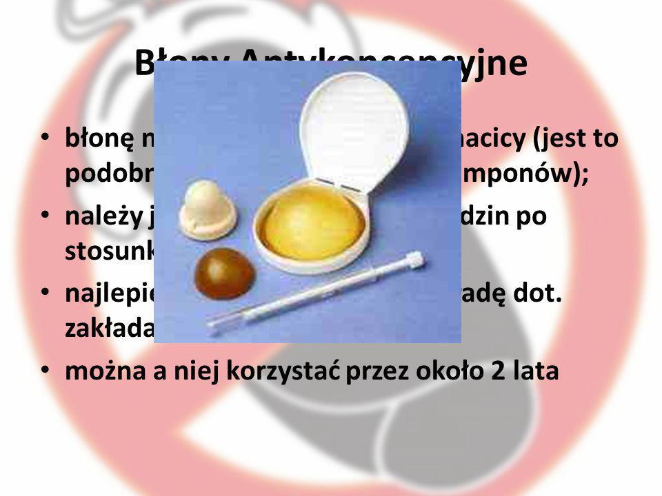 Błony Antykoncepcyjne