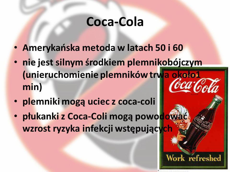 Coca-Cola Amerykańska metoda w latach 50 i 60