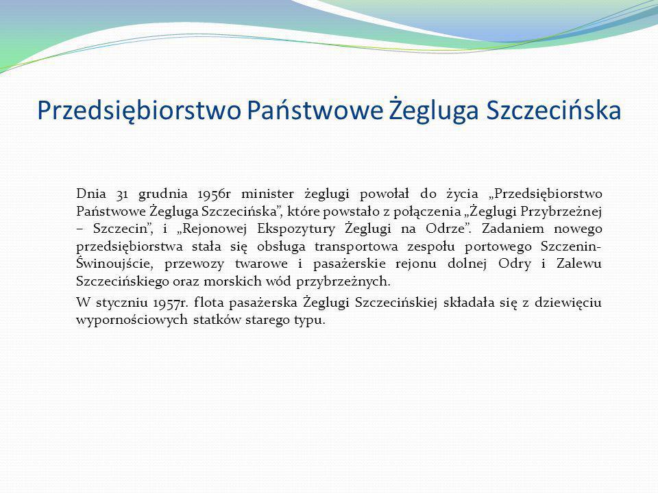 Przedsiębiorstwo Państwowe Żegluga Szczecińska