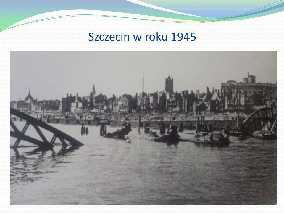 Szczecin w roku 1945