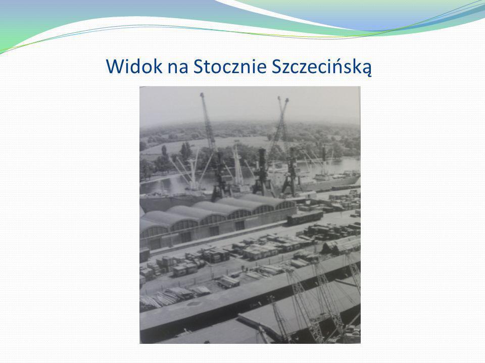 Widok na Stocznie Szczecińską