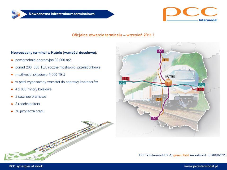 Oficjalne otwarcie terminalu – wrzesień 2011 !