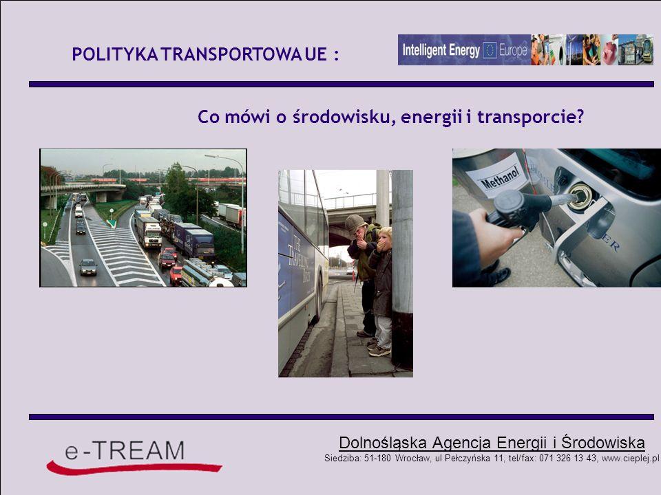 Co mówi o środowisku, energii i transporcie