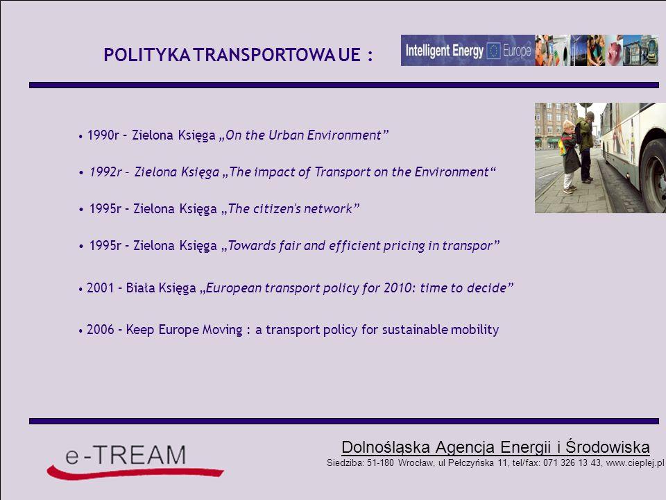 POLITYKA TRANSPORTOWA UE :