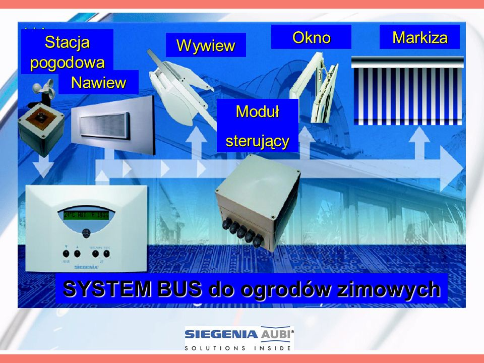 SYSTEM BUS do ogrodów zimowych
