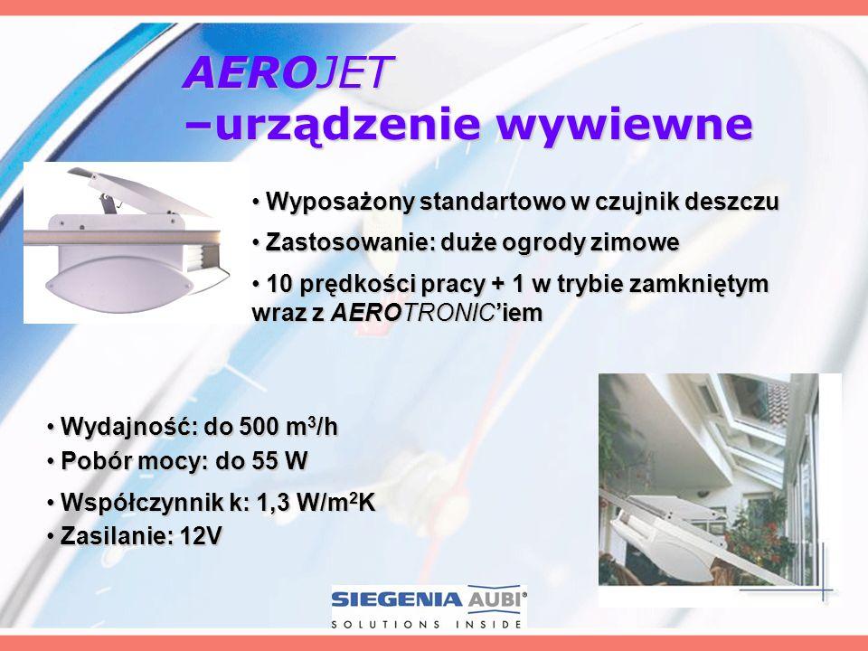 AEROJET –urządzenie wywiewne