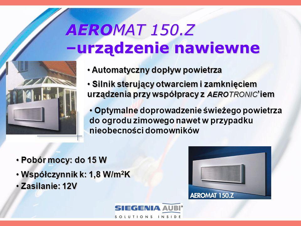 AEROMAT 150.Z –urządzenie nawiewne
