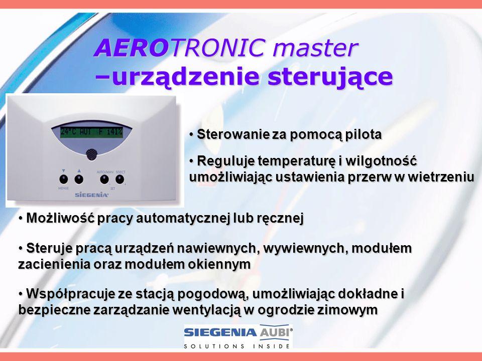 AEROTRONIC master –urządzenie sterujące