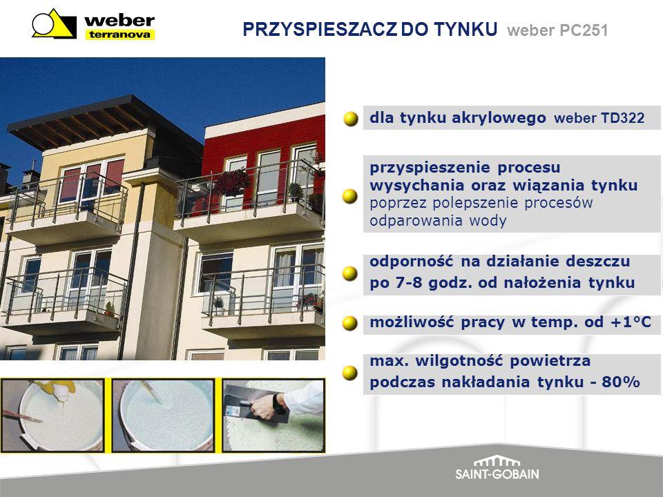 PRZYSPIESZACZ DO TYNKU weber PC251