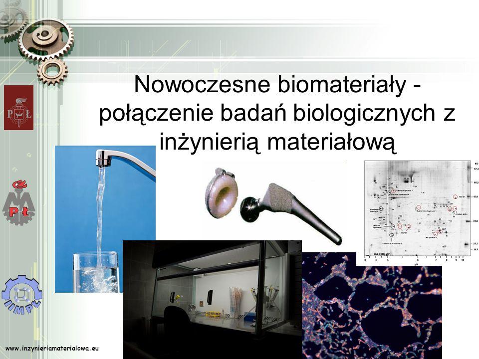 Nowoczesne biomateriały - połączenie badań biologicznych z inżynierią materiałową