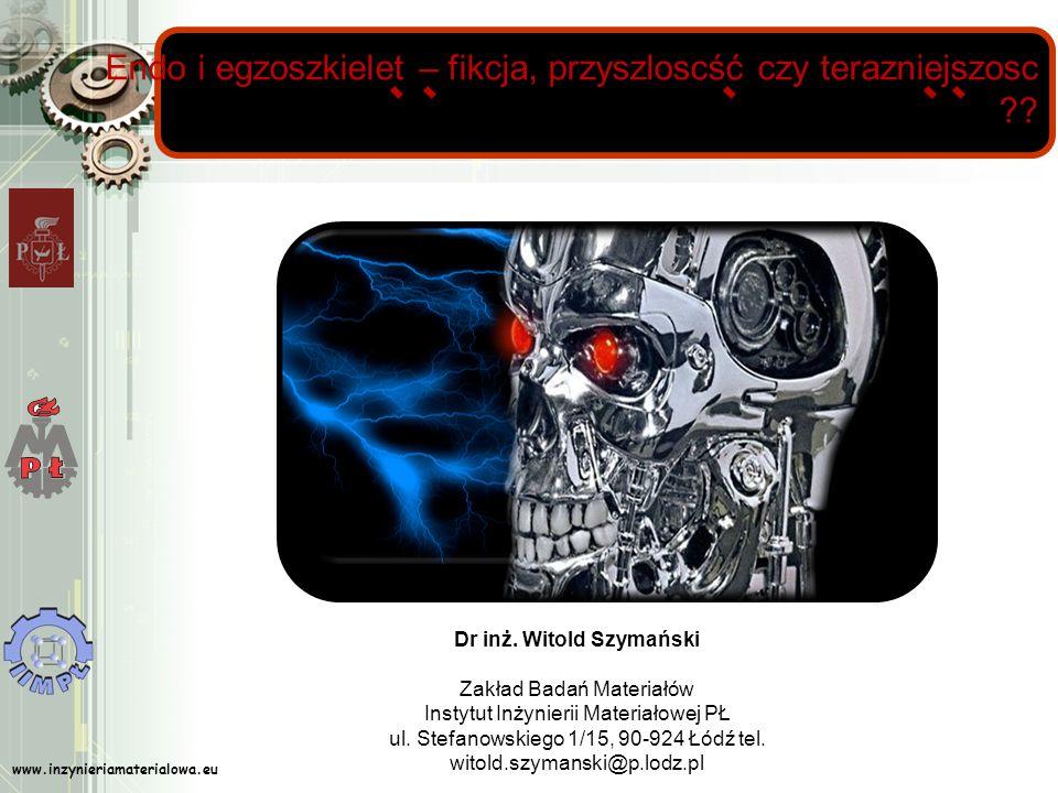 Dr inż. Witold Szymański