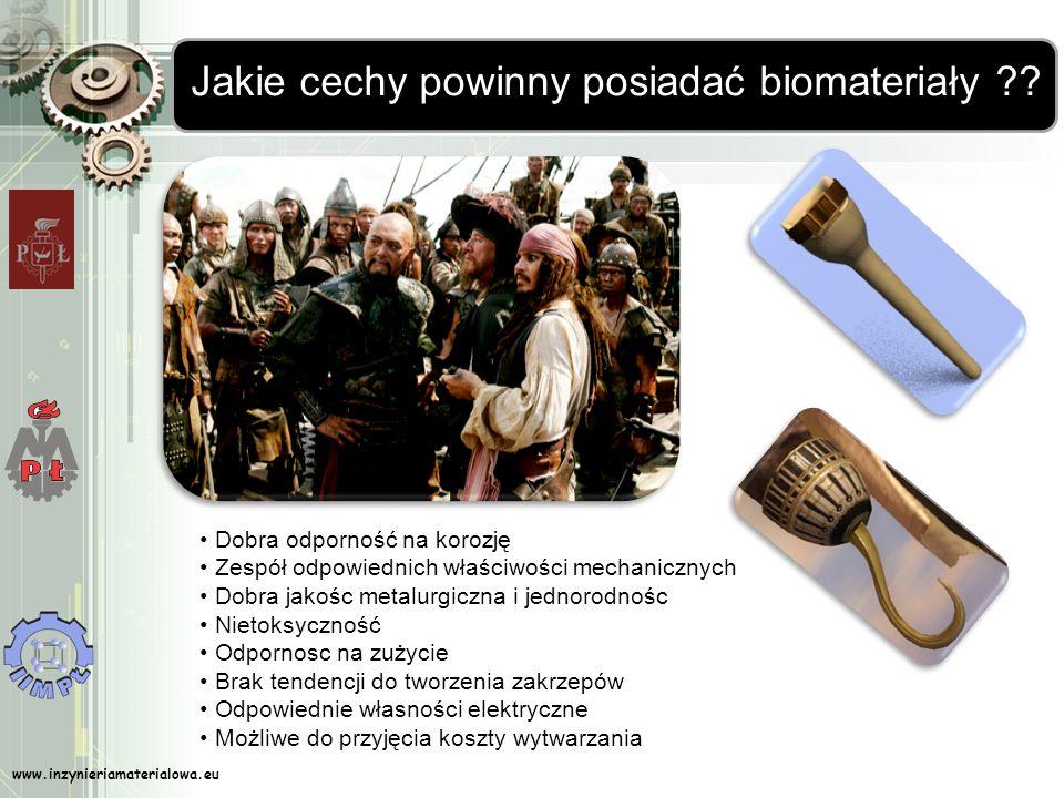 Jakie cechy powinny posiadać biomateriały