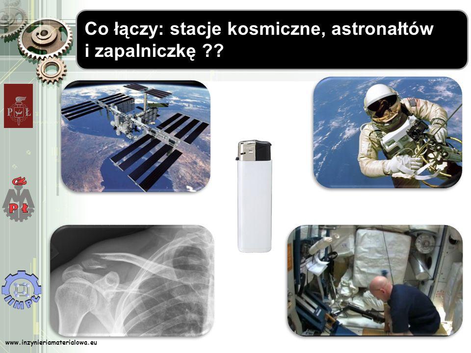 Co łączy: stacje kosmiczne, astronałtów i zapalniczkę