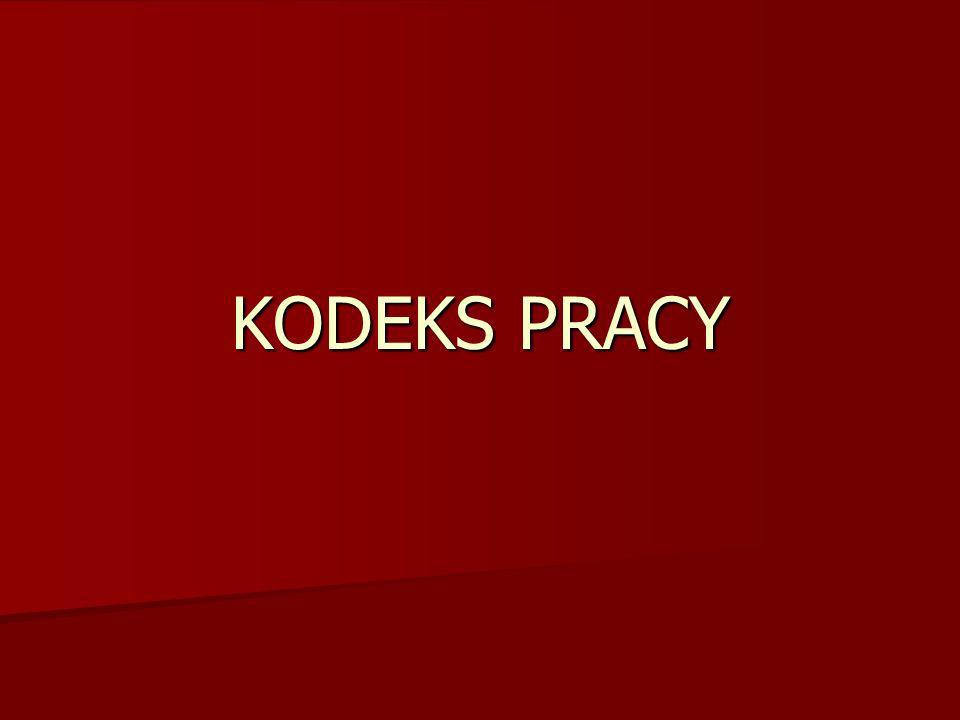 KODEKS PRACY