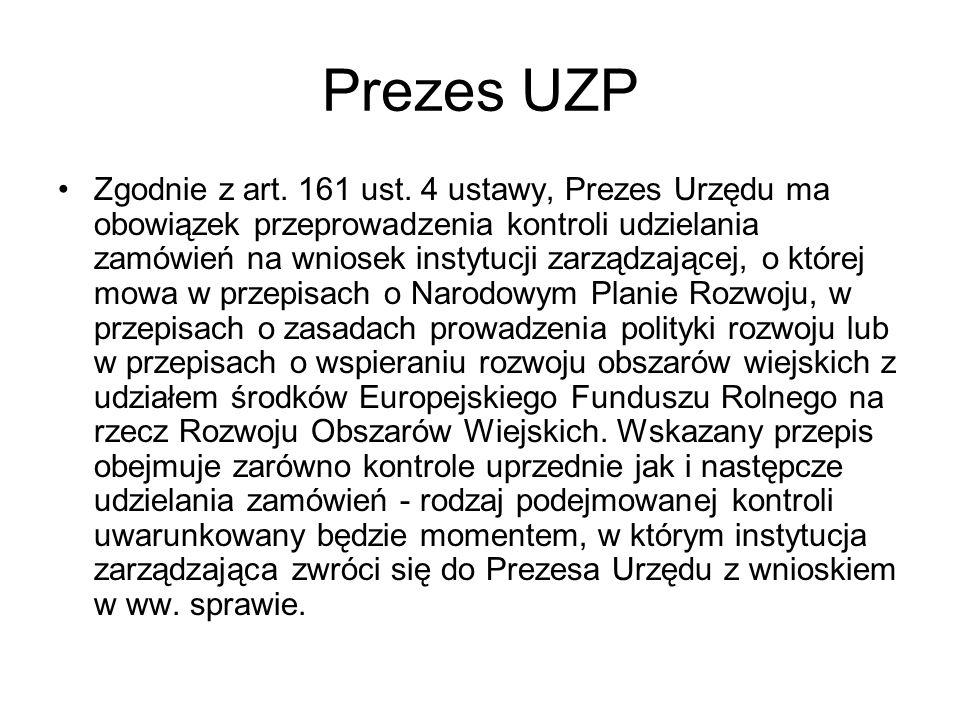 Prezes UZP