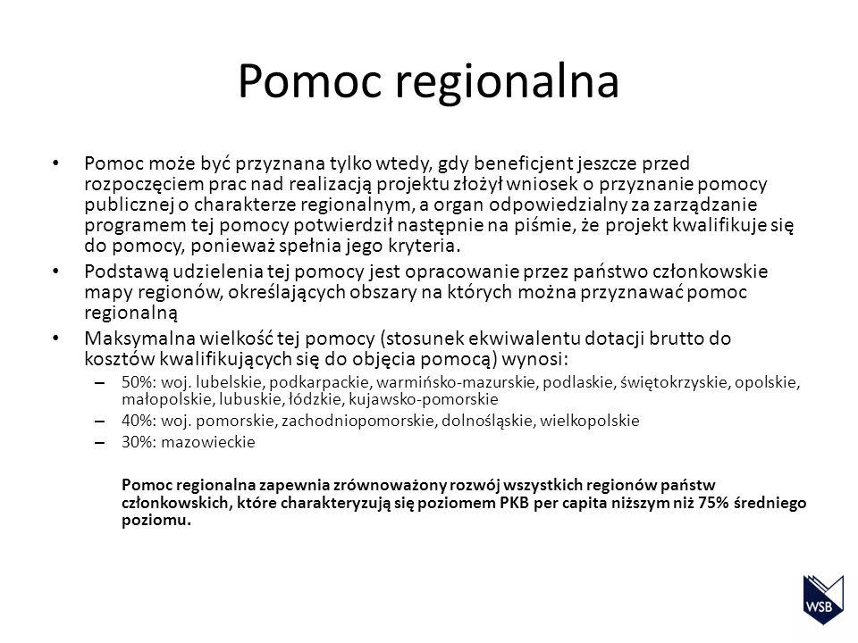Pomoc regionalna