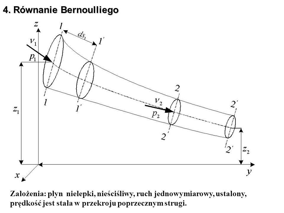 4. Równanie Bernoulliego
