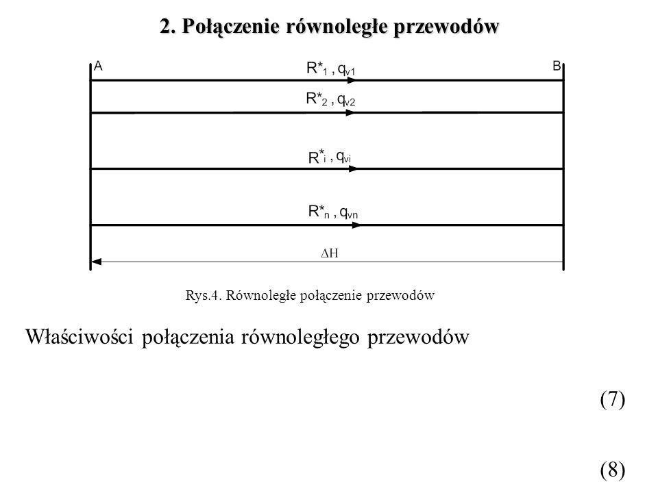 Rys.4. Równoległe połączenie przewodów