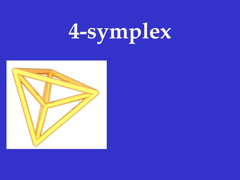 4-symplex