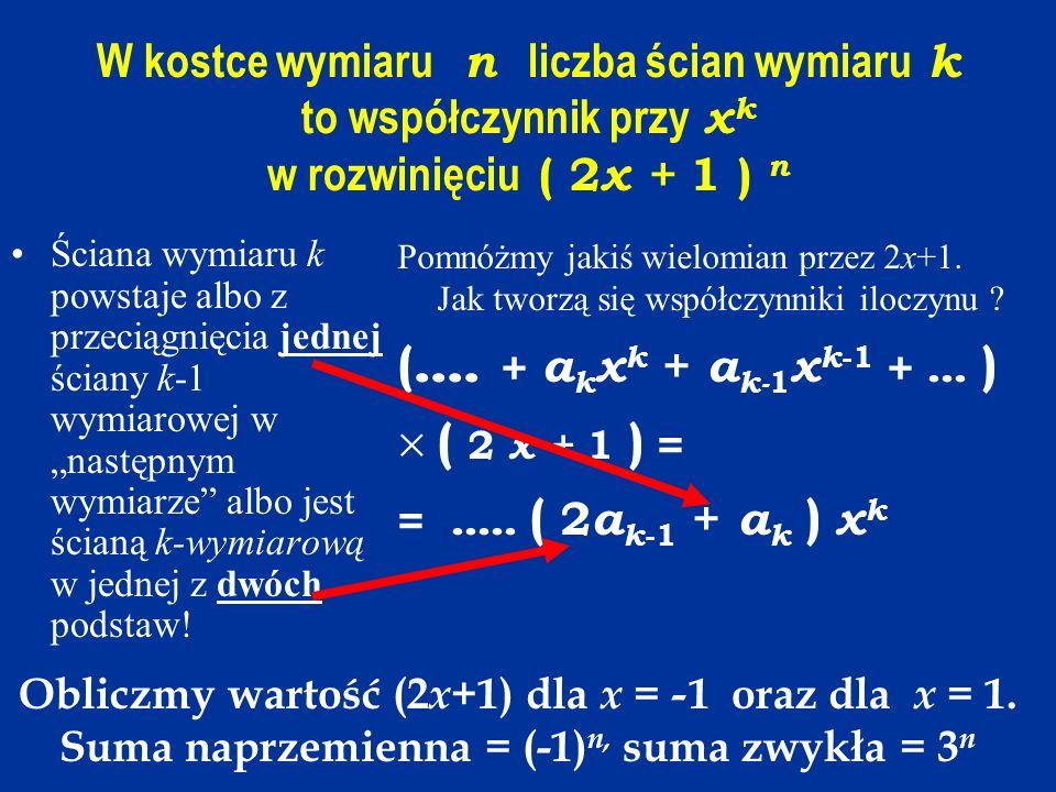 (.... + akxk + ak-1xk-1 + ... ) ( 2 x + 1 ) =