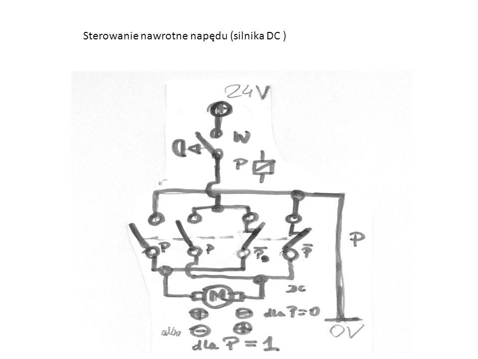 Sterowanie nawrotne napędu (silnika DC )